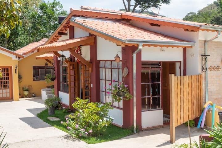 Villa Cottage Pousada - Suíte casal A