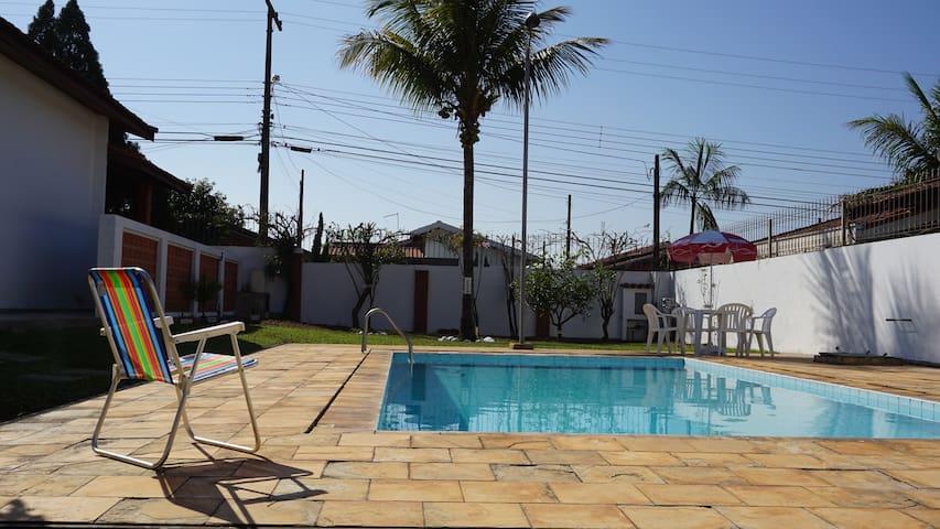 Casa Espaçosa, Confortável e Completa São Pedro/SP