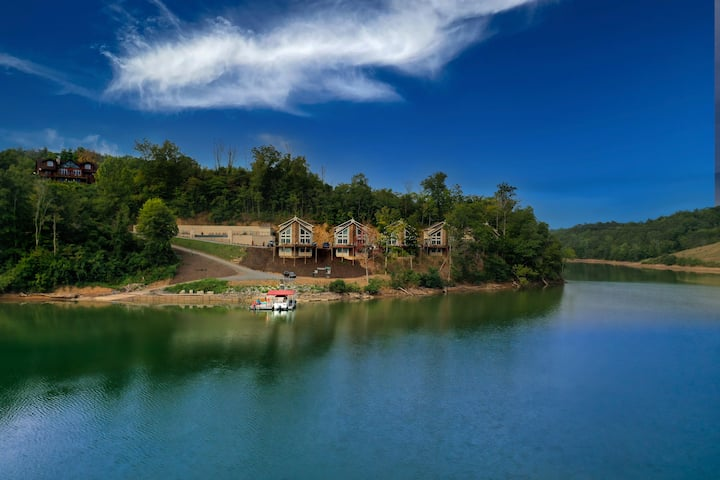 7 Bedroom Lake-Front Cabin near the Smokies! #1