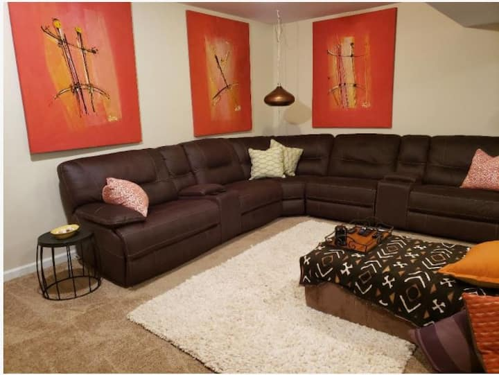 Cozy basement apartment nr ATL airport & downtown!