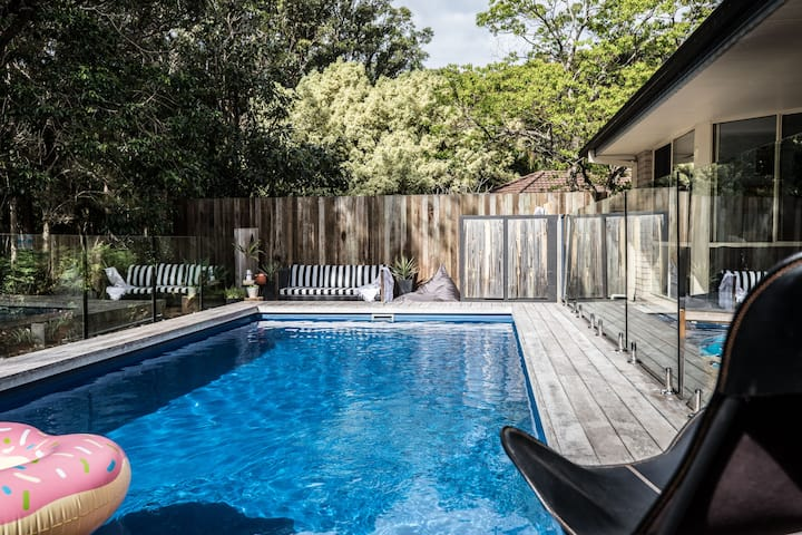 Byron private home-8 mtr pool/petfriendly /wifi
