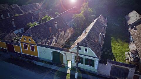 Villa Rihuini (wine house) room in Transylvania