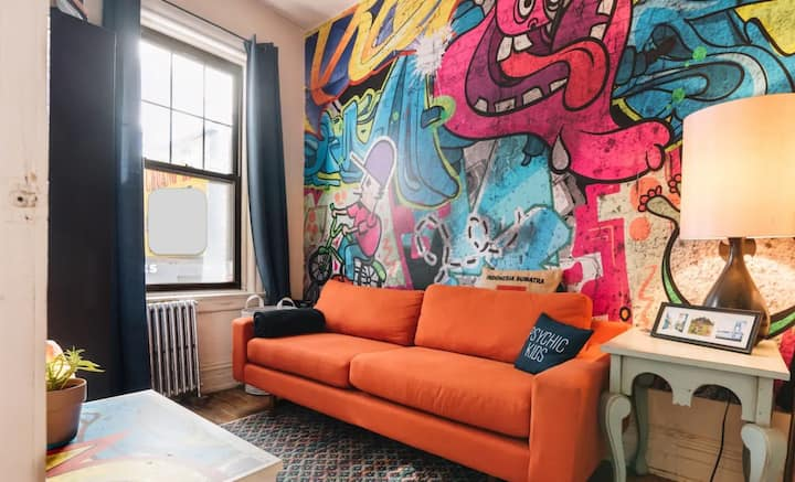 """The """"Brooklyn Room"""" for work, comfort, and safety!"""