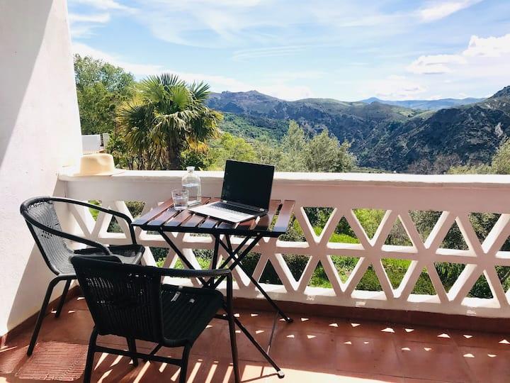 La Oveja Verde Alpujarra, nice apartment 3 places