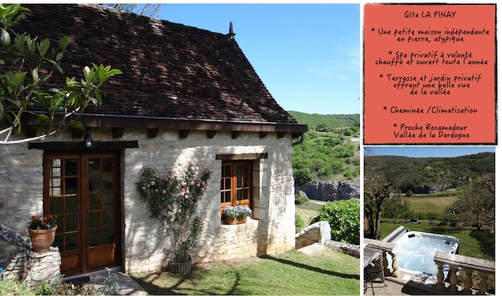 La Pinay-A charming little house w/spa & chimney