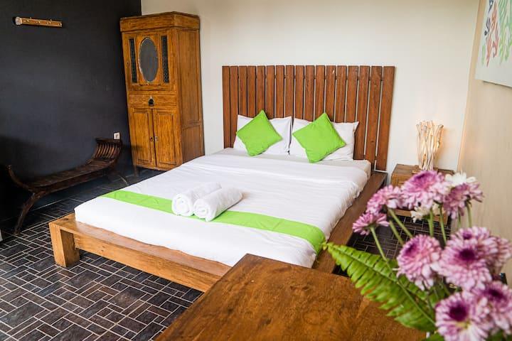 Local living room Borobudur at Atmos Co-Living