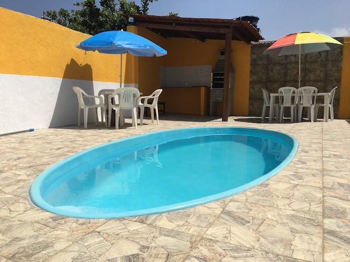 Casa de praia com piscina em Tamandaré - PE
