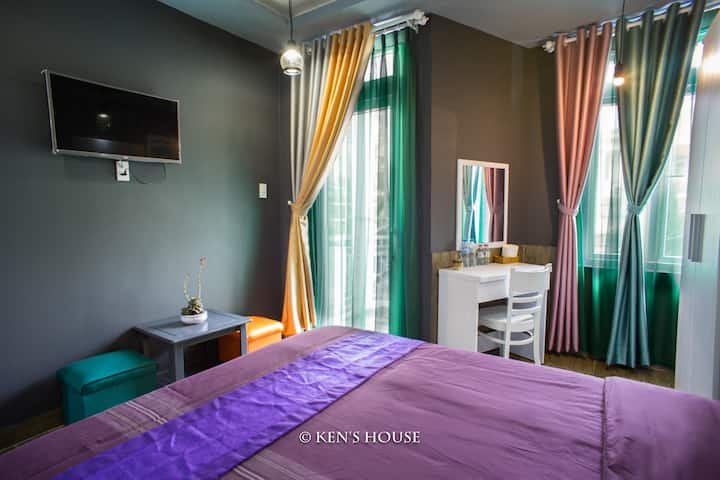 Ken's Backpackers | Double room-Warmly decoration