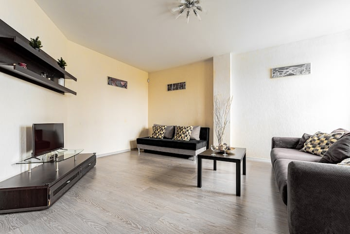 Nice apartment,city Center with Arena Football.