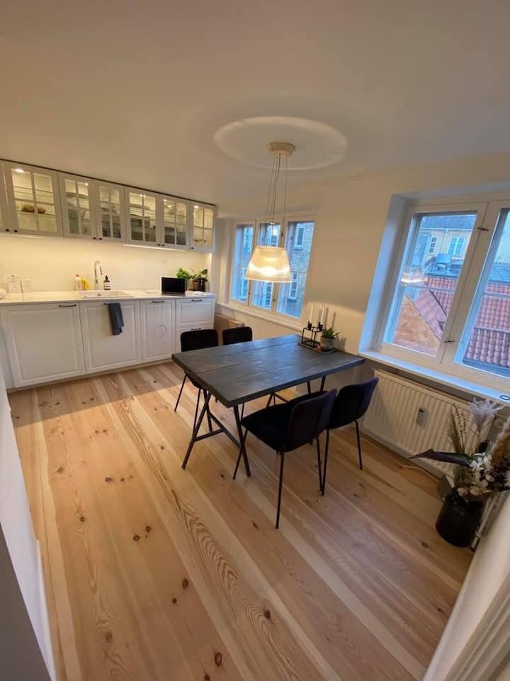 An apartment in the best location in Copenhagen