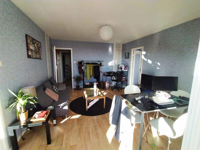 Dijon : appartement T2 avec balcon
