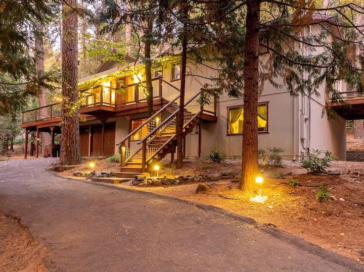 NORSE HUS in Twain Harte: Multi-Family Mtn Home