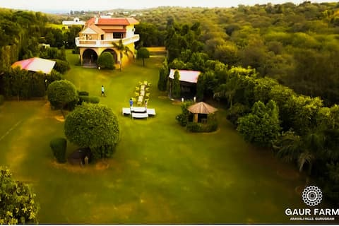 Luxury Farmhouse ( Gaur Farm) |Party|Event|Stay|