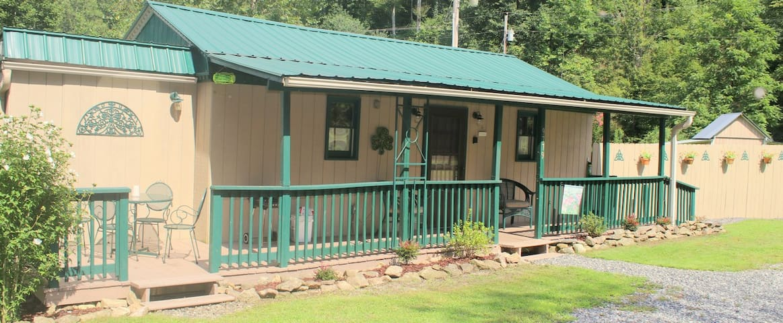 Celtic Comfort Cabin, mt. retreat, dog friendly!
