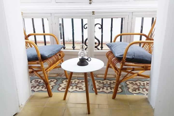"""Apartamento con encanto """" Los Balcones de Cádiz"""""""