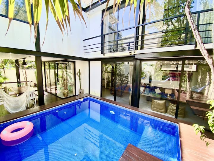 New modern 3 Bedrooms Villa in Tulum, private pool