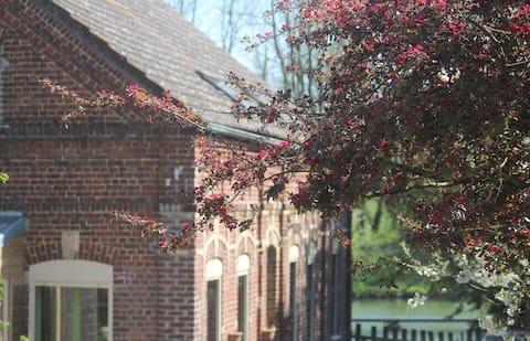 Jolie chambre proche abbaye Vaucelles