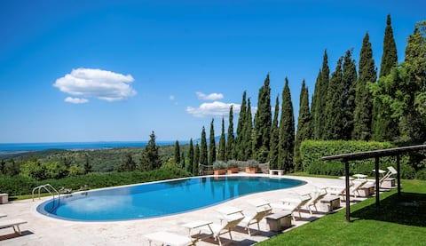 Villa il Mirto, Tuscany sea view