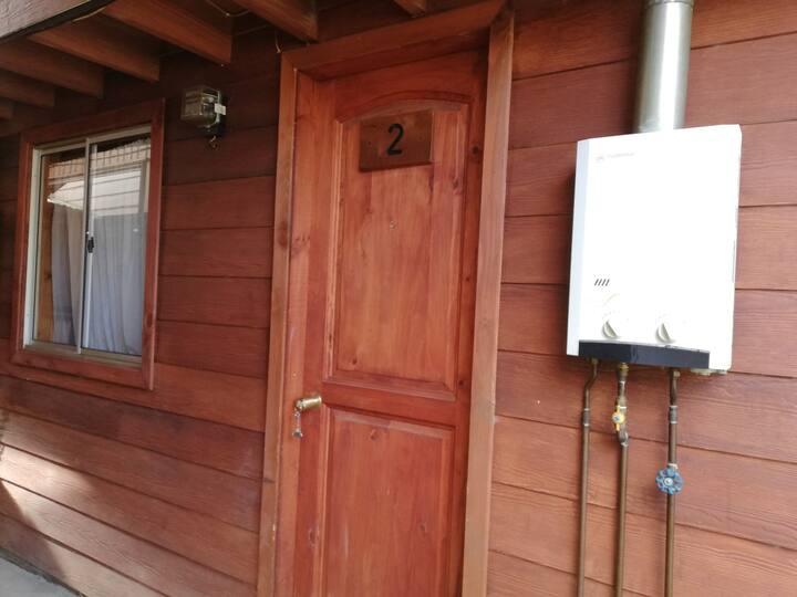 Cabaña central en Valdivia 2 dormitorios