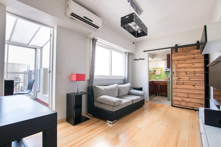 Chic Apt with private terrace! Recoleta´s heart