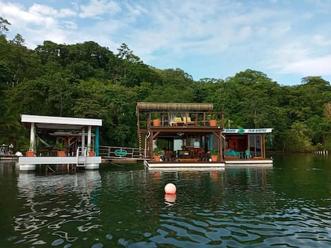 Sum Beach Sum Where - One of kind Floating House.