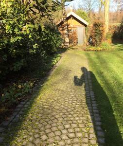 Fußweg zum Haus