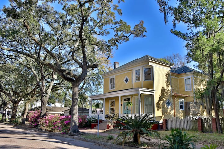 Entire Classic Revival Home in Downtown Savannah