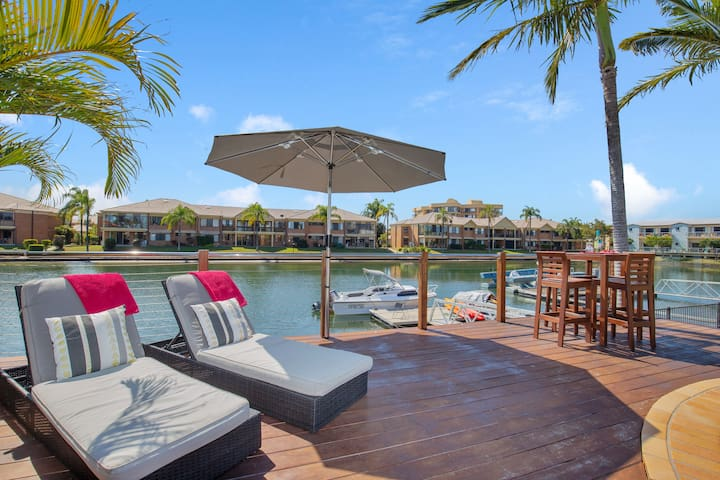 Relax and Unwind at Coastal Runaway  - own patio