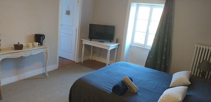Chambre cosy dans propriété de charme