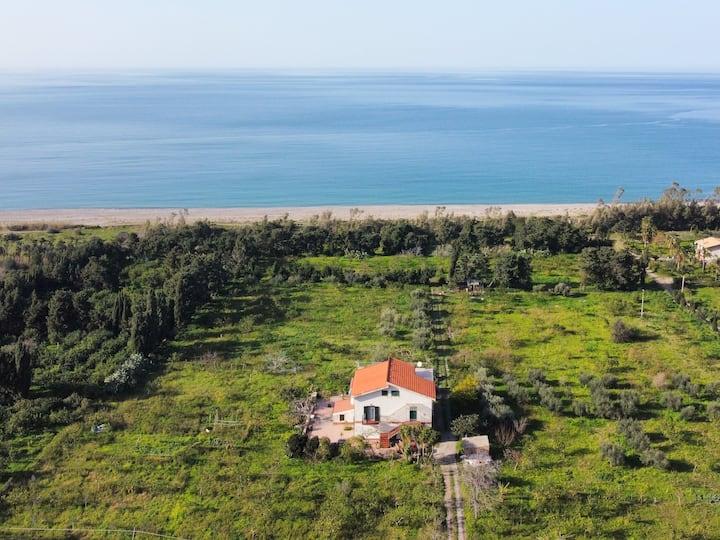 """Villa coloniale """"Piana"""" a 150 metri dal mare"""