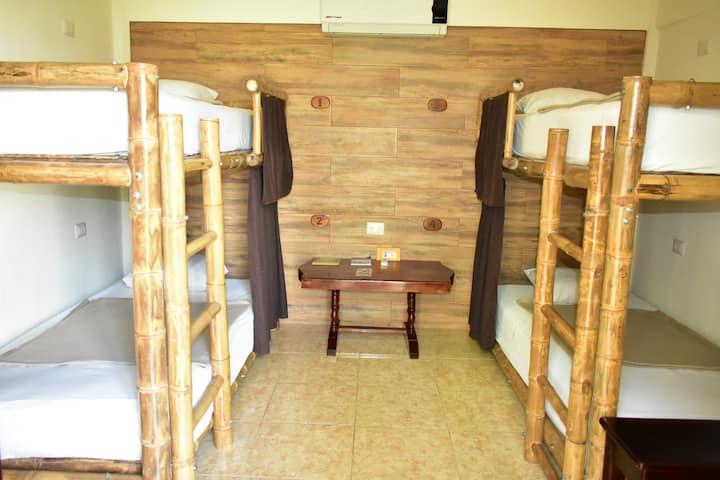 Habitacion Compartida Mixta_ Casa Janaab Palenque