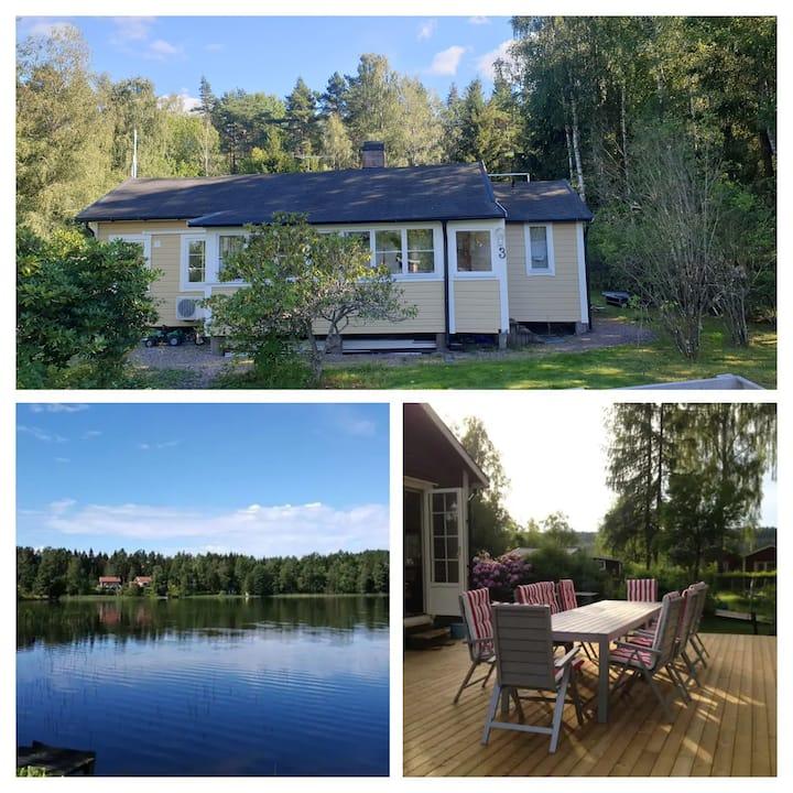 Cozy cottage near lake
