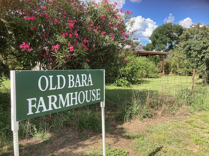 Old Bara farmhouse situated on a cattle farm
