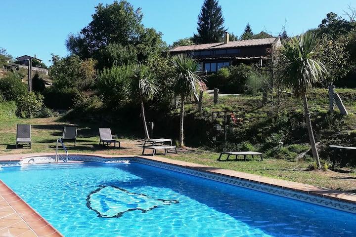 CASA DO VAL. Casa rural con encanto en Pontevedra.