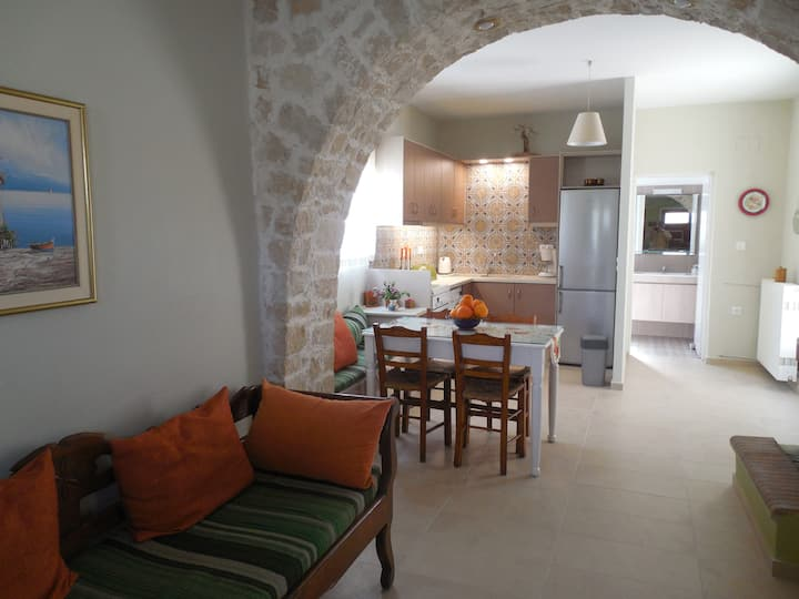 Village house close to nice beaches of Crete