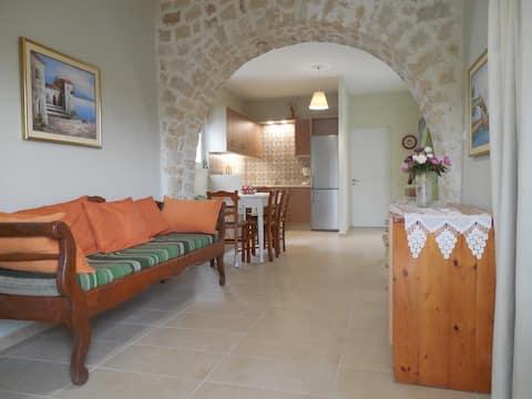 Village house close to nice beaches of Crete