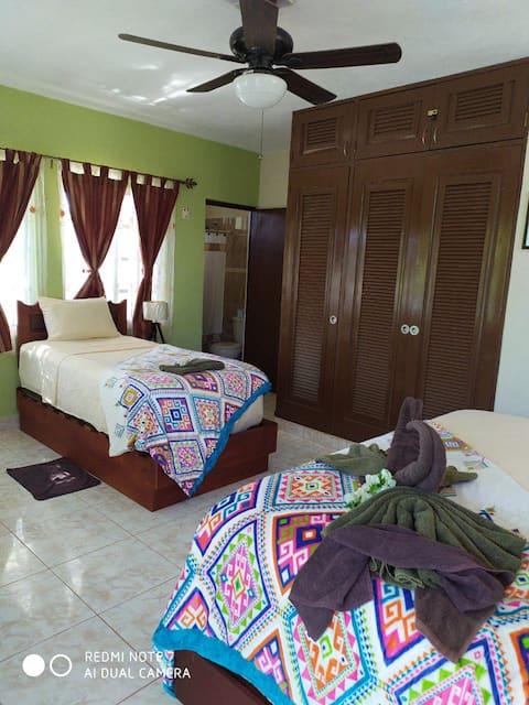 Hotel Las Palapas de Punta Allen Habitación # 3