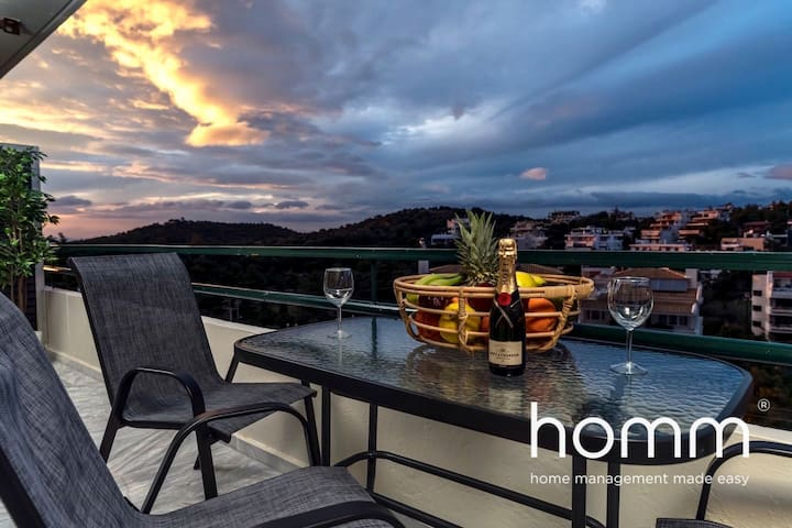 51m² homm Renovated Apartment in Vouliagmeni