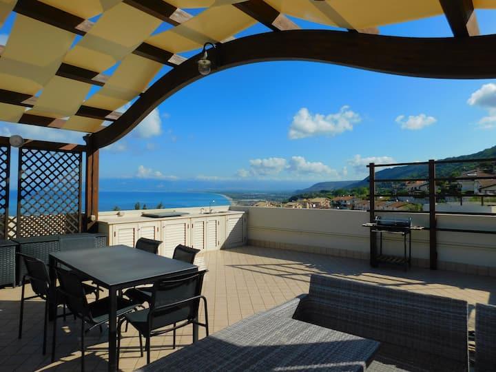 Casa Napitia    Rooftop Terrace 360 view