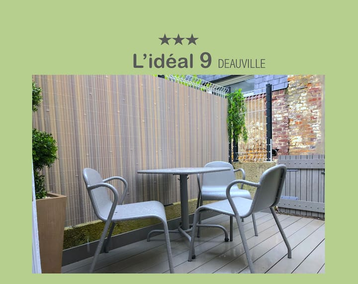 L'IDEAL 9 avec TERRASSE  (Place MORNY à 50m)