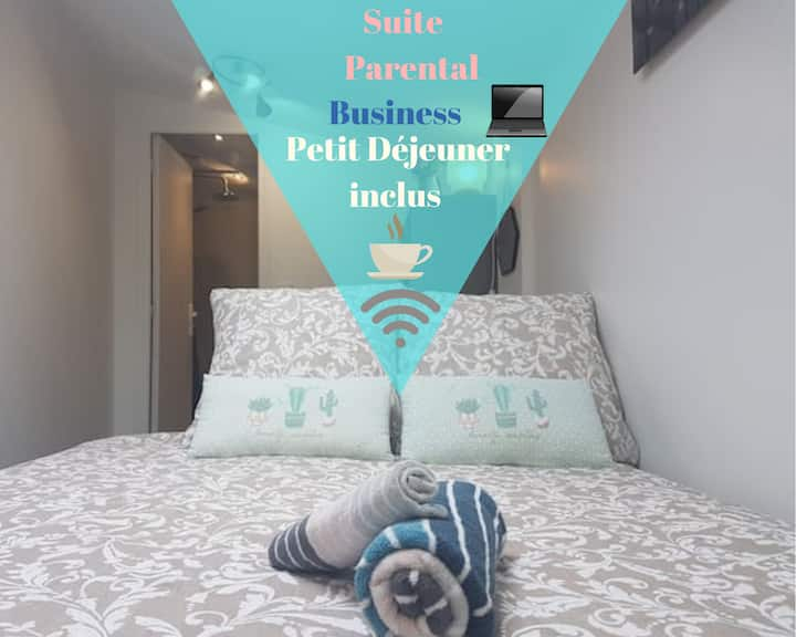 Beautiful Private Parental Suite Near The Défense