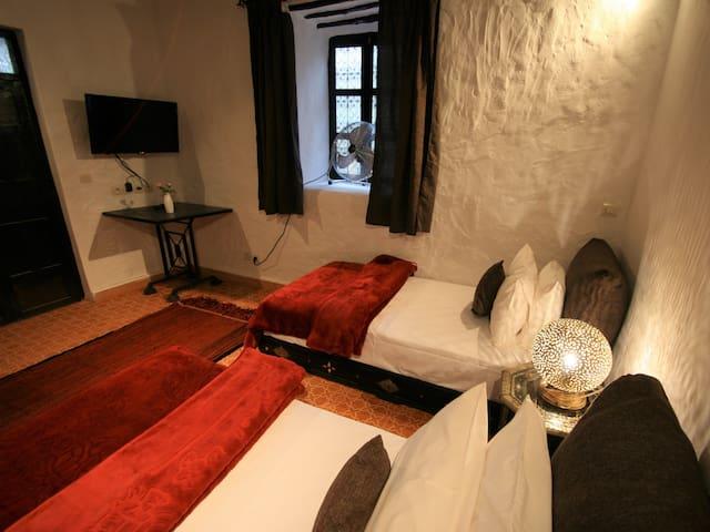 Berber cottage bedroom