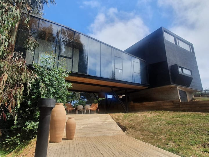 Casa LoftBox Punta de Lobos, Pichilemu