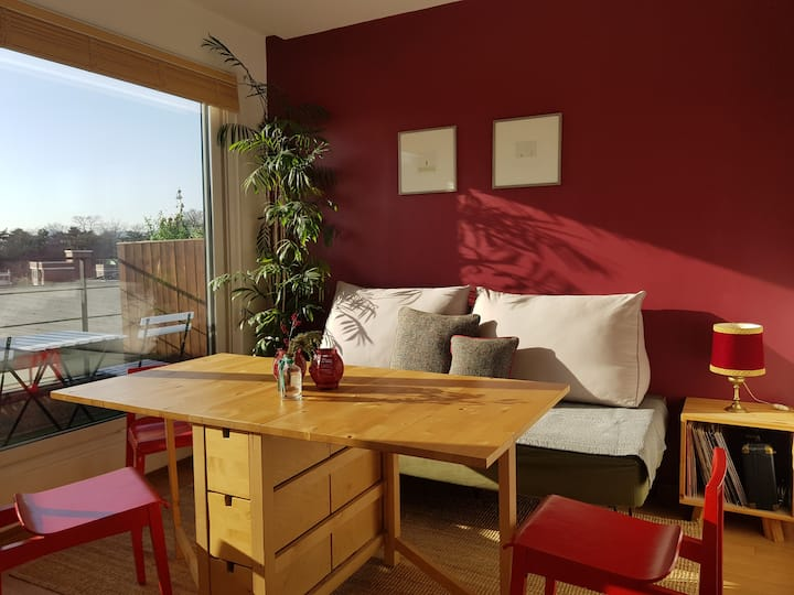 ※Naksan Balcony※2BR w/ private balcony & rooftop