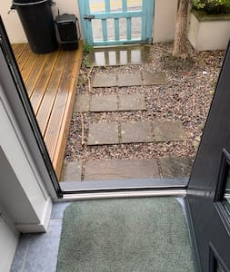 Fort door and walkway access