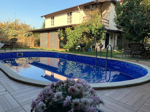 VİLLA HOLİDAY SAPANCA KIRKPINAR - müstakil havuzlu