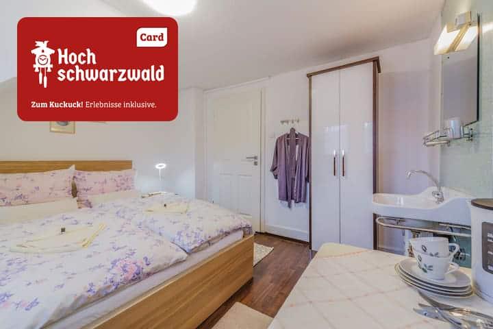 Retro-Zimmer klein 2 min z.Titisee, Garten Terasse