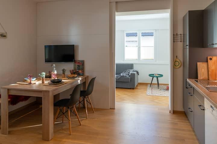 Modern apartment- Haus Lang (close to Merano)