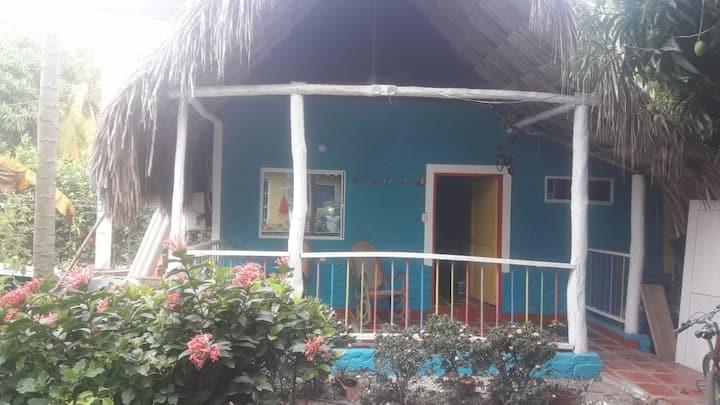 Villa Corales Cabaña Azul (7 personas)