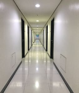 hallway to the room
